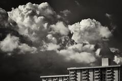 Unrest (reesem226) Tags: cloud cumulus storm textures building contrast blackandwhite silverefexpro2