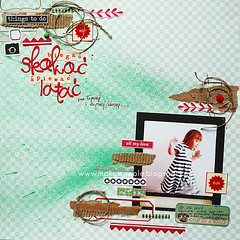 Biega, skaka... (Makowe Pole) Tags: scrapbook layout lo scrap ils makowepole