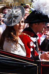 Kate Middleton at the Order of the Garter 2011