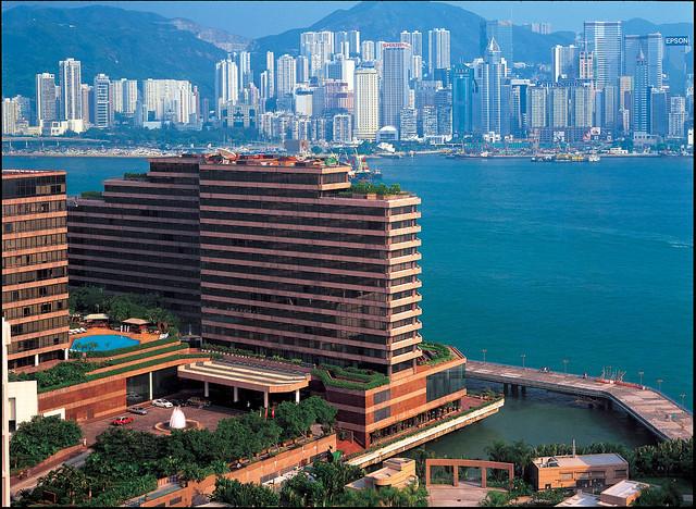 絶景ホテル インターコンチネンタル香港