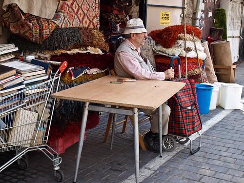 Tel Aviv - Mercado de Las Pulgas