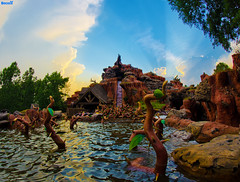 The Great Disney Light Hunt (Tom.Bricker) Tags: orlando nikon florida disneyland wideangle disney disneyworld mickeymouse wdw waltdisneyworld magickingdom waltdisney sleepingbeautycastle disneylandresort ultrawideangle d90 disneypictures nikond90 disneyphotos d7000 wdwfigment tombricker nikond7000