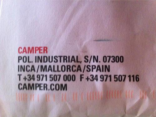 Dirección Camper