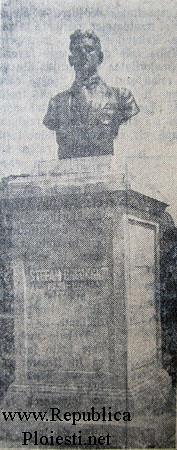 Bustul lui Stefan Gheorghiu din Ploiesti