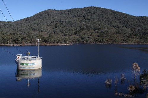 Jounama Small Hydro on the Tumut River at Talbingo