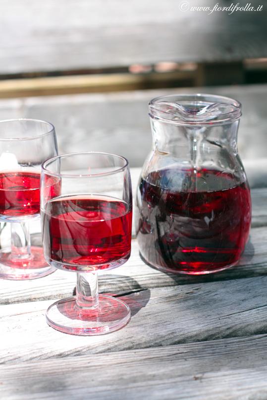 Un bicchiere di Schiava