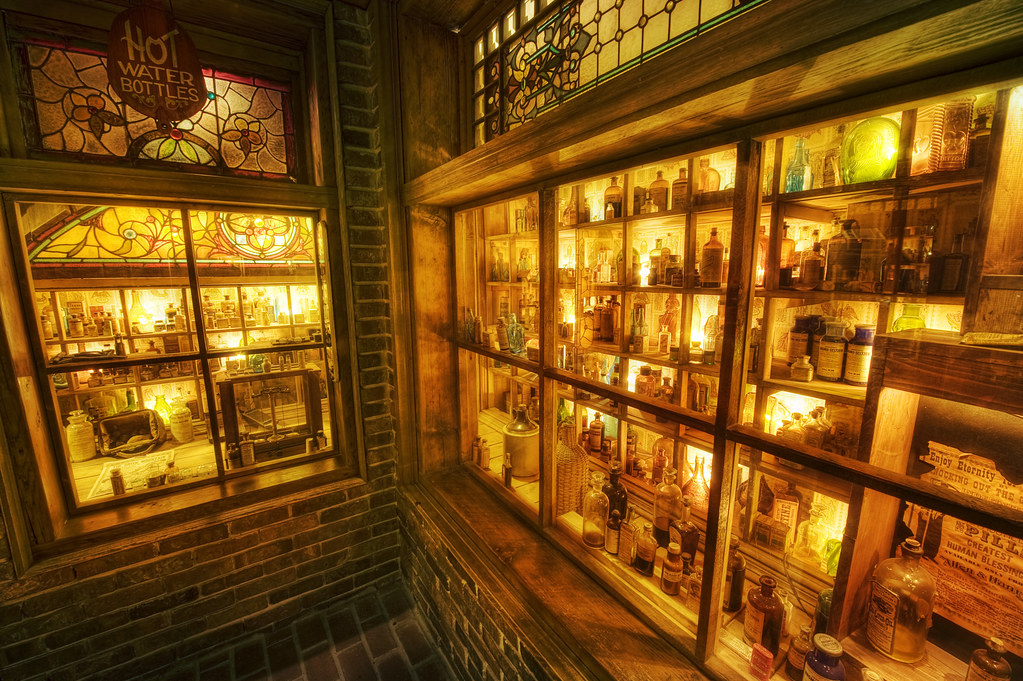 The apothecary (The House on the Rock)
