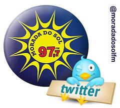 Morada no Twitter (moradadosolfm) Tags: verde sol rio de do fm rdio morada twitter