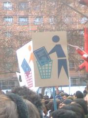 March for Public Education, June 30, Santiago, Chile