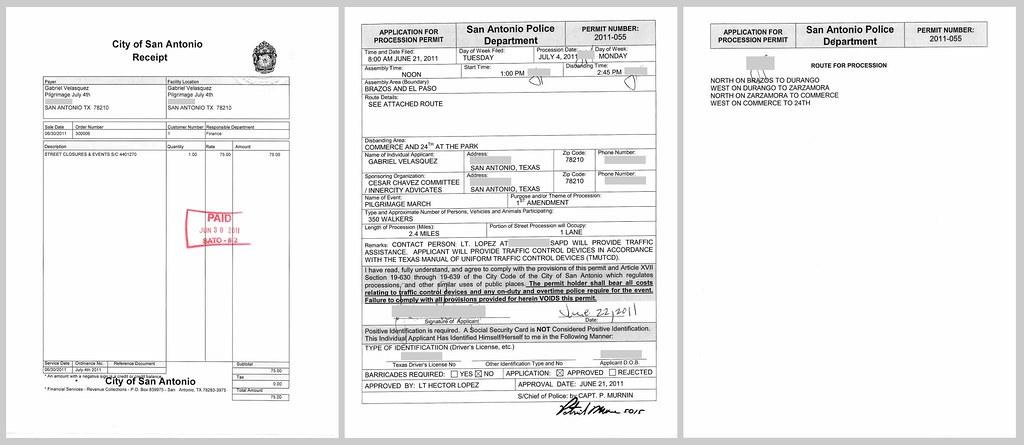 0711 - Immigration Pilgrimage Permit #2011-055