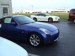 My 350z and my Camaro