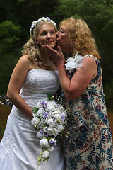 The Bride and Her Mom (Just Katety) Tags: family wedding mom dress weddingdress whitedress whiteweddingdress katety
