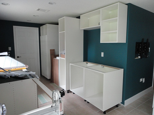 Kitchen - ride side cabinets