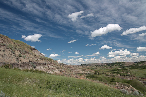 Dry Island Buffalo Jump, Red Deer river by seven_drunk_men, on Flickr
