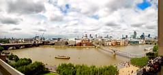 London, UK. Tate Modern Thames 16.4Mpx panorama (Lennert van den Boom) Tags: uk greatbritain england panorama london unitedkingdom 180 gb engeland londen gbr vk verenigdkoninkrijk grootbritannië