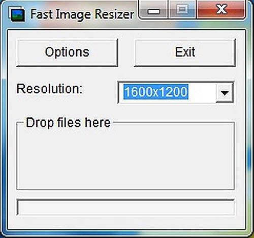 โหลด Fast Image Resizer โปรแกรมย่อรูป ทีละหลายรูป