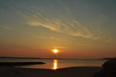 Mokbaai Texel. (Romar Keijser) Tags: sun holland netherlands dutch de coast zonsondergang sundown nederland down mok zon texel noord kust ondergang ondergaande mokbaai