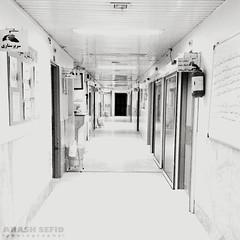 (Arash Sefid) Tags: bw white black hospital blackwhite arash mashhad sefid imamreza arashsefid