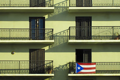 Puerto Rican Pride (Guy dicarlo) Tags: puertorico purtorico apartment architecture balcony building capital caribbean city color colored colorful colors culture day destinations door doorway exterior famous flag green home hot house image island juan mine multi nationalism old outdoor place pride puerto quaint rico san sanjuan scene scenics spanish stock sunset tourism tourist traditional travel tropical tropics urban vacation vibrant warm