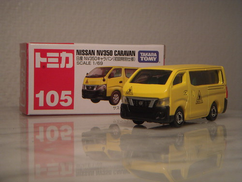 Nissan Nv350 Caravan E26 1 69 Diecast By Tomica A Photo On