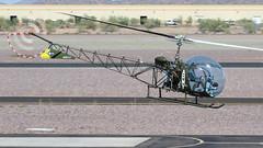 Bell 47D-1 N78900 (ChrisK48) Tags: 47 47d bell47d1 n78900 cn480 aircraft helicopter dvt kdvt phoenixaz phoenixdeervalleyairport 1952