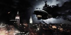 World on Fire (shepofships) Tags: bioshock bioshockinfinite scenery airship steampunk screenshot