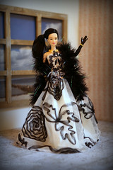 the evening dress (photos4dreams) Tags: photos4dreams dress barbie mattel doll toy p4d photos4dreamz barbies girl play fashion fashionistas outfit kleider mode puppenstube tabletopphotography