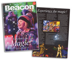 Beacon Magazine Cover - Experience the Magic @ Blackgang Chine (s0ulsurfing) Tags: s0ulsurfing 2016 october news wwwjasonswaincouk image photography isleofwight isle wight island tourism print leaflet blackgang chine poster magic illuminations beacon cover magazine advertorial