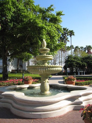 Grand Floridian Courtyard Fountain