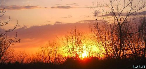 March 2011 sunrise