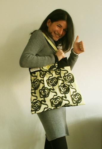 Valeria with CITRUS BAG