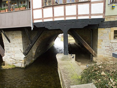 Erfurt # 4 (schreibtnix) Tags: travelling germany deutschland thringen reisen erfurt thuringia fachwerk merchantsbridge timberframework olympuse5 schreibtnix kmerbrcke