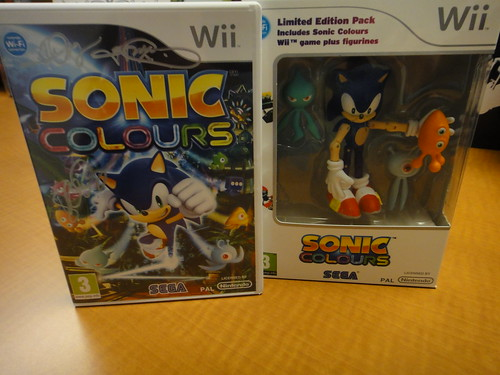 Sonic Colours UK Wii Pack