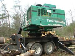 DSCF4695 (M.Bouzakine) Tags: forestry logging valmet skidder timberpro knuckleboomloader 445exl deere648g