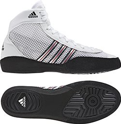 adidas Combat Speed III White Black Wrestling Shoes