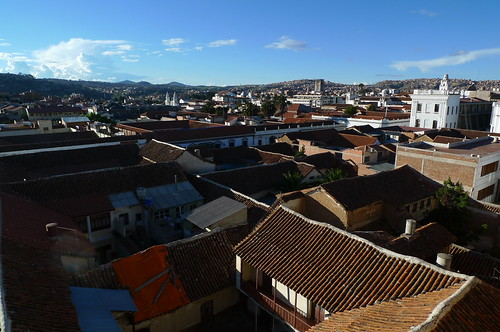 View from San Felipe Neri - Sucre, Bolivia