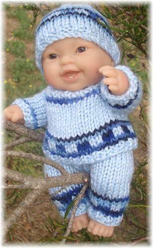 Ravelry Perry Outfit For 8 20cm Chubby Baby Doll Pattern By