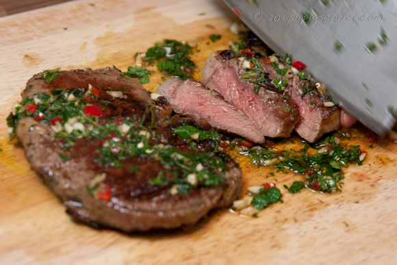 Jamie Oliver's 'Dress the Board' Rib-Eye Steak 3