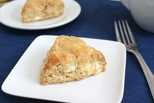 Maple Syrup Breakfast Scones with Cappuccino Glaze | Tracey's Culinary ...