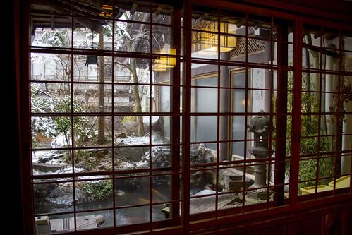 Kanaguya Onsen - Snow fall