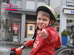 Radtour mit Finn