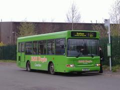 K&H Doyle V331CVV Blidworth (Guy Arab UF) Tags: travel bus buses liverpool super doyle kh dennis dart nottinghamshire mansfield mpd blidworth plaxton a v331cvv