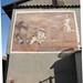 [senza titolo]; 1986. Affresco, cm 220x350.<br /> Maglione, Via Regina Elena.<br />