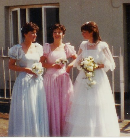 Corina, Liz and Mam