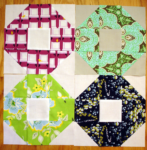 April Shoo-fly Blocks