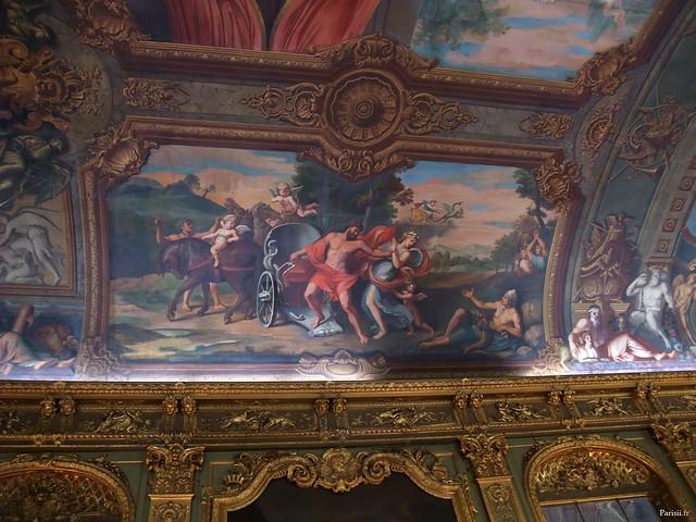 Fresque monumentale, longue de 40m, œuvre de François Perrier