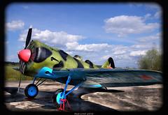Polikarpov I-16.1941. Истребитель Поликарпова И-16. 1941