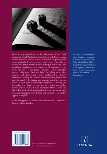 Reading Games in the Greek Novel (back)