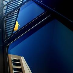 Film strip (Arni J.M.) Tags: blue windows sky buildings geotagged iceland islandia reykjavik geotag reykjavík ísland islande filmstrip islanda nikond80 bestcapturesaoi elitegalleryaoi