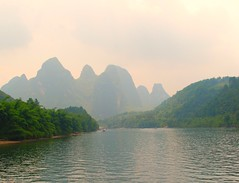 DSC_0127 China, Guilin, Li river (tango-) Tags: china cina guilin liriver fiumeli         pechino          chine kina in  chinachinekinaquc riflessi riflesso reflection reflections waterreflections wetreflections